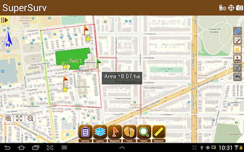 SuperSurv Lite --GIS App- screenshot thumbnail