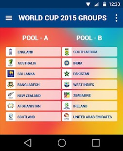 ICC World Cup 2015 Live by CIT- screenshot thumbnail