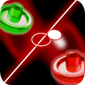Glow Air Hockey Plus icon