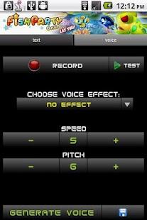 Voice Changer - screenshot thumbnail