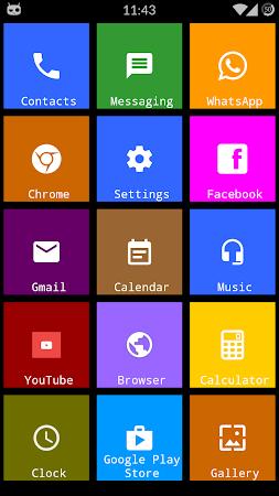 Metro Theme Launcher - WP Look 1.12 screenshot 642100