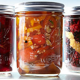Sweet Pickled Peppers.