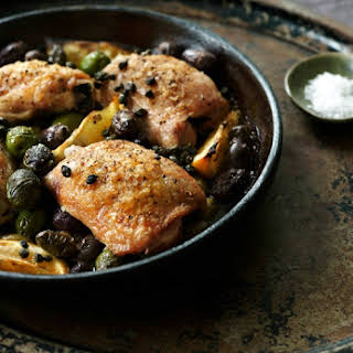 Chicken with Olives & Capers.