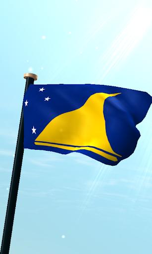 Tokelau Flag 3D Live Wallpaper