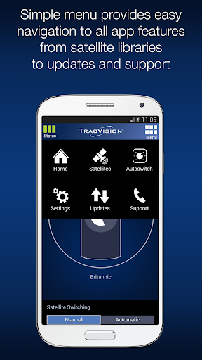 KVH TracVision TV/RV-series 1.3.6 screenshots 2