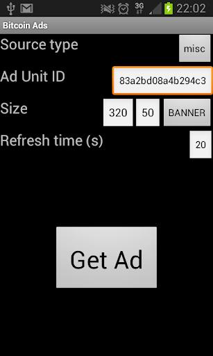 Bitcoin Ads