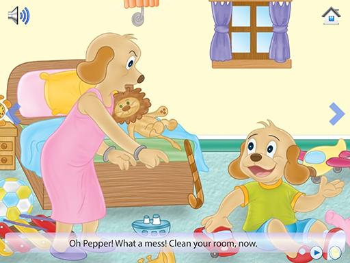 Pepper Cleans His Room 1.0.2 screenshots 1