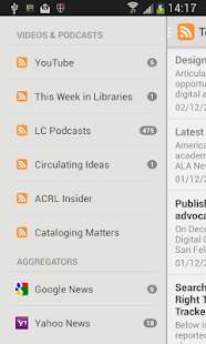 The Library Herald App- screenshot thumbnail