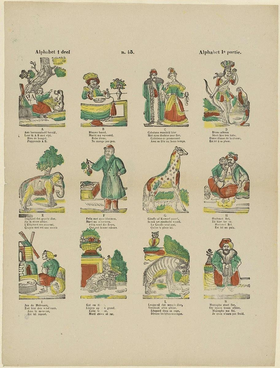 Alphabet 1 Deel Alphabet 1e Partie Franciscus Antonius
