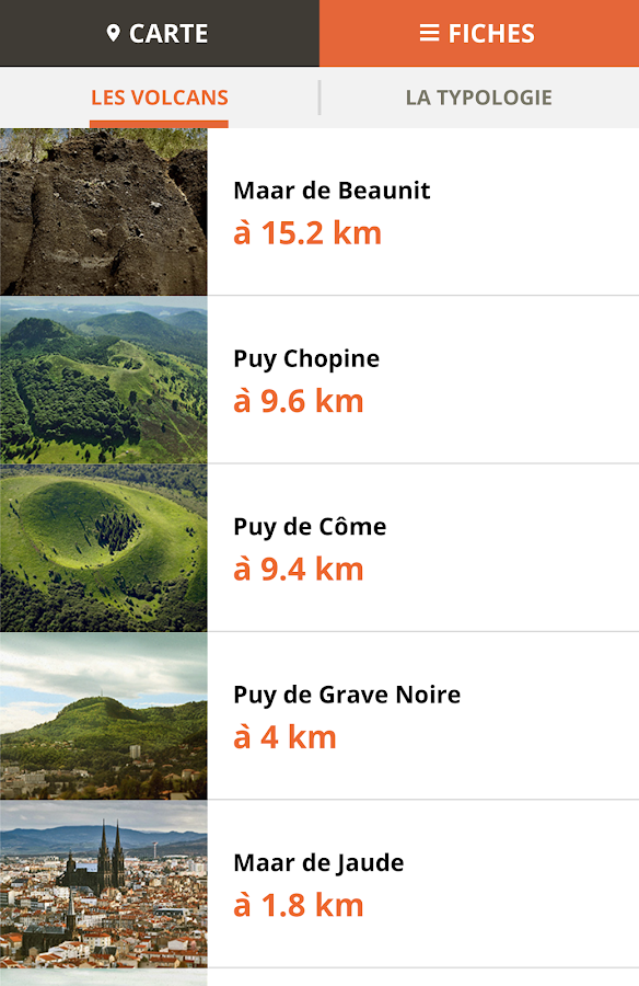 Volcans d'Auvergne- screenshot