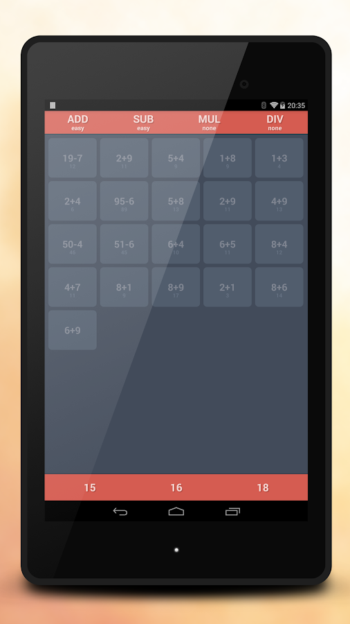 Fast Math Free - screenshot