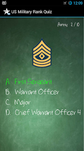 US Military Rank Quiz- screenshot thumbnail