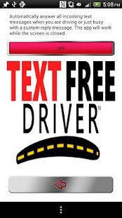 Text Free Driver - screenshot thumbnail