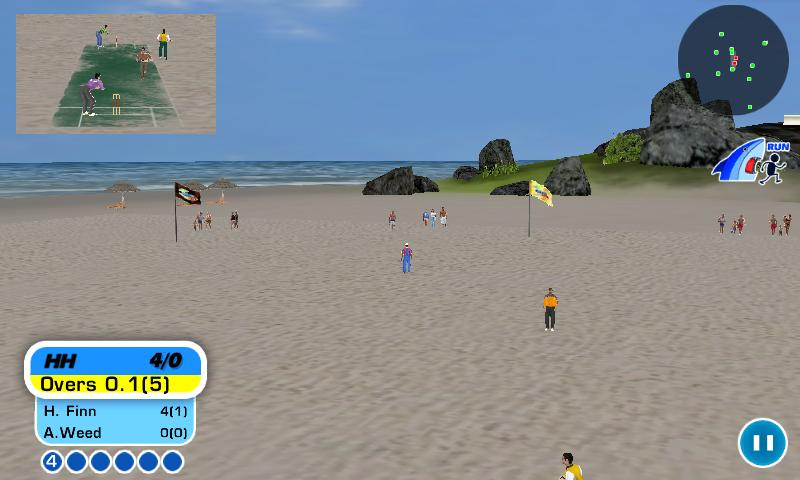 Beach Cricket Pro - screenshot