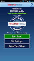 Screenshot of TRANSFLO Mobile