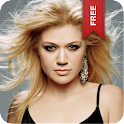 Kelly Clarkson Live Wallpaper logo