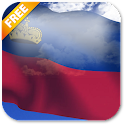 3D Liechtenstein Flag LWP icon