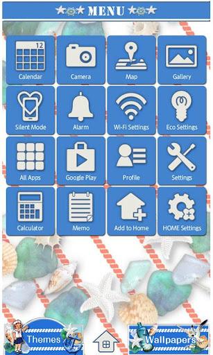 Blue Marina Wallpaper Theme 1.8 Windows u7528 2