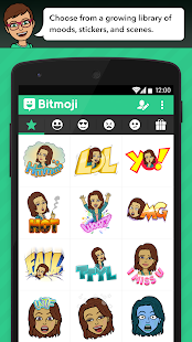 Bitmoji - Emoji by Bitstrips - screenshot thumbnail