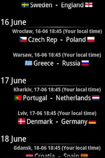 Euro 2012 Guide - screenshot thumbnail
