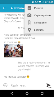 mysms SMS Text Messaging Sync Screenshot