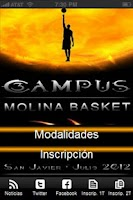 Screenshot of Campus Molina Basket