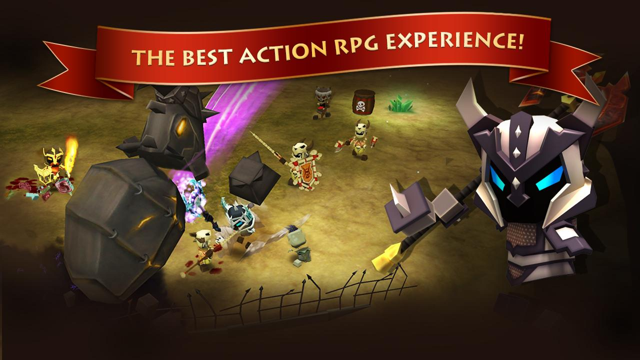 Elements: Epic Heroes- screenshot