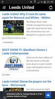Screenshot of This is Leeds Utd