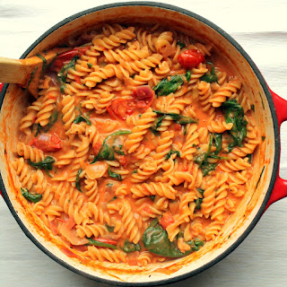 Tomato & Mascarpone One Pot Pasta