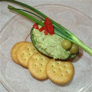 Avocado and Pilchard Pate.