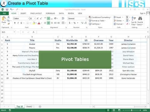 EasyGuides for Excel 2013- screenshot