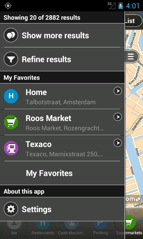 TomTom Places - screenshot