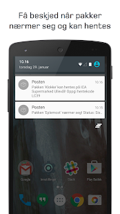 Posten Sporing- screenshot thumbnail