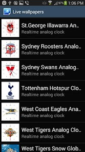 St.George Dragons Analog Clock- screenshot thumbnail