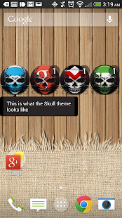 Skull - FN Theme - screenshot thumbnail