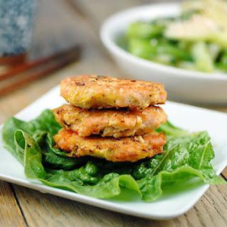 Sesame Salmon Burgers