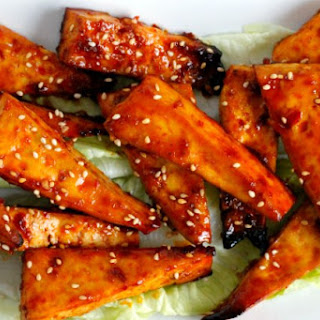 "Korean BBQ Tofu ""Wings"""