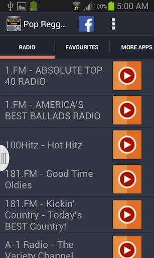 Pop Reggae Radio
