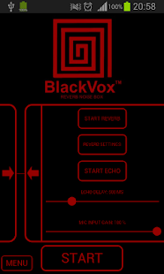 BlackVox™ 2 Reverb Noise Box Screenshot