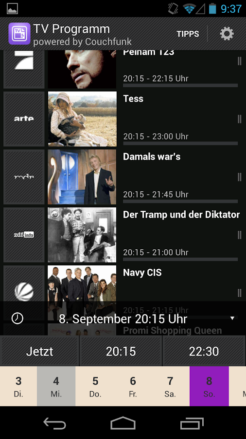 TV-Programm App heute - screenshot