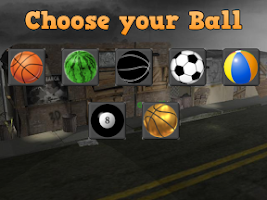 Screenshot of Basketball Street Hoop