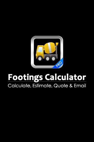 Footings Calculator PRO
