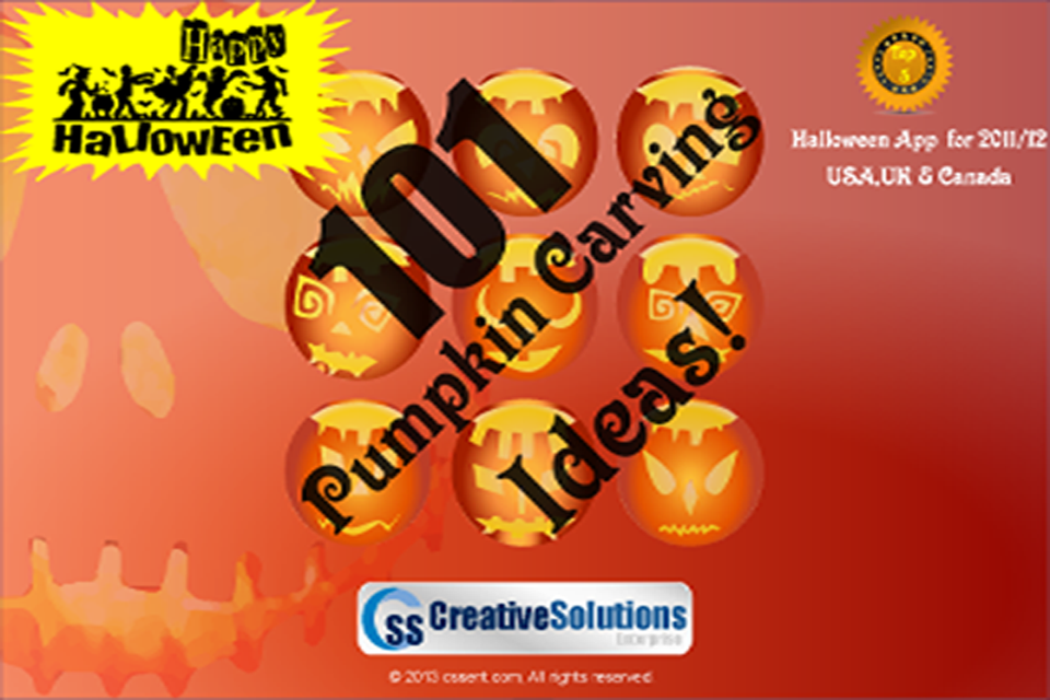 101 Pumpkin Carving Ideas Free - screenshot