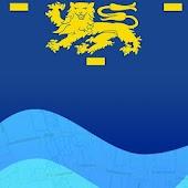 Vaarkaart West-Friesland