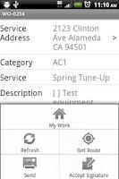 Screenshot of Intuit Field Service
