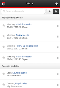 SugarCRM - screenshot thumbnail
