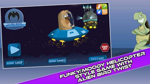 エイリアン鳥の宇宙開発競争:エンドレス銀河冒険!
