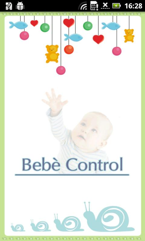 Bebe' Control A/V Baby Monitor- screenshot
