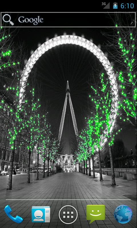 London City Light LWP - screenshot