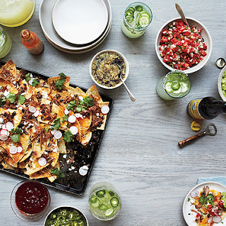 Nachos with All the Fixings